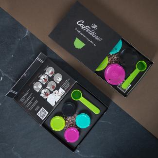 Cápsulas Caffettino | Nespresso | Kit 4 cápsulas recargables