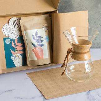 Chemex + 100 filtros + 250g Manifiesto Café