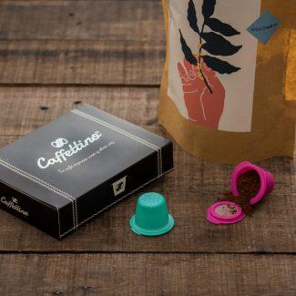 Caffettino | Nespresso | Kit 12 + 250g Manifiesto Café
