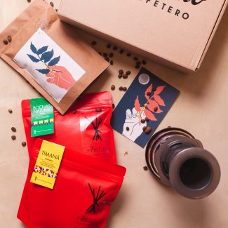 HOT BOX | FUEGO | 3 Cafés