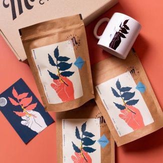 HOT BOX | MANIFIESTO | 3 Cafés + Taza