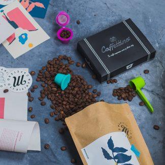 BOX NAVIDEÑO | CC2 | Cápsulas reutilizables + 500g Café